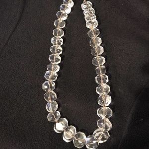 Talbots Crystal Bead Necklace